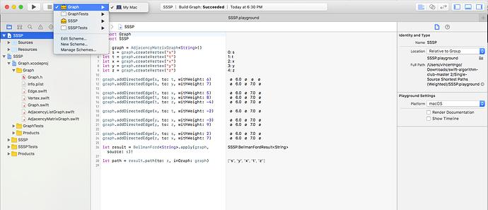 Swift Algorithm Club: Graphs with Adjacency List - Official